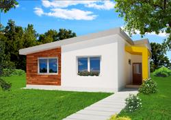 Projekty domov s pultovou strechou